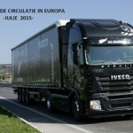 Restrictii de circulatie de vara in Europa -IULIE-2015