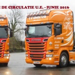 RESTRICTII DE CIRCULATIE EUROPA -IUNIE 2016 –